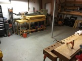 Bench and stroke sander